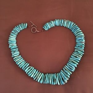 Natural Turquoise Handmade Choker/Necklace